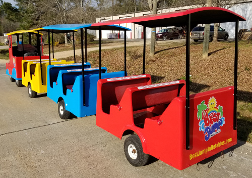 Best Jump Express Trackless Train rear view