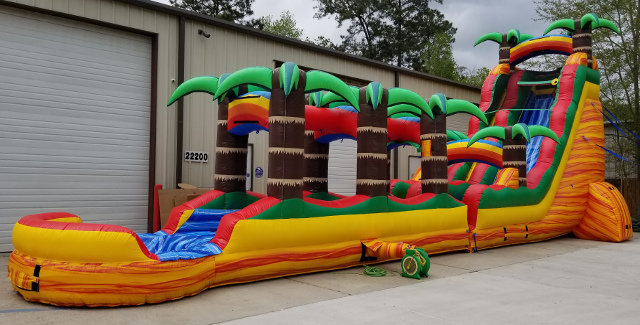 Tropical Fiesta with Slip and Slide