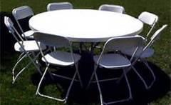Tables/ Chairs/Tents