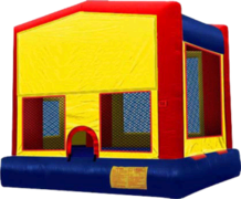 15x15 NO Panel Module Bounce House