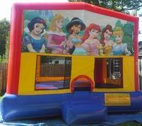 15x15 Princess Module Bounce House