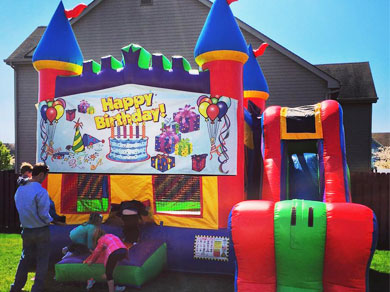 Birthday Castle Rental