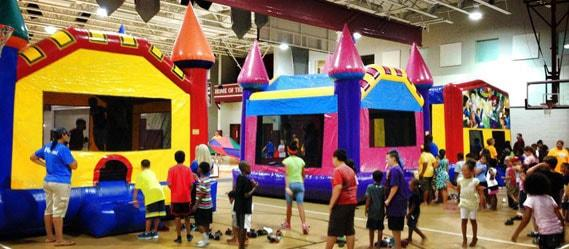 School & Church Festival Rentals