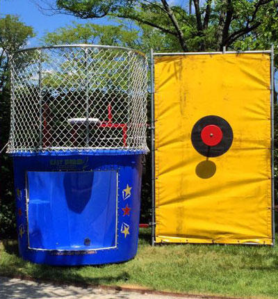Blue Dunk Tank Rental