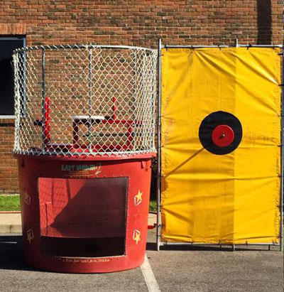Red Dunk Tank Rental