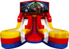 Double Splash 16' Slide Avengers