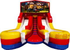 Double Splash 16' Slide Minions