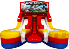 Double Splash 16' Slide Minecraft