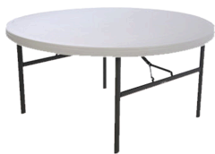 5 ' Round Table