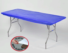 Blue Kwik Cover - 8' Table