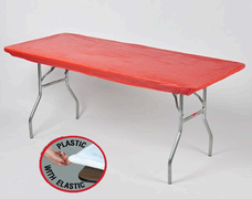Red Kwik Cover - 8' Table