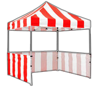 Carnival Game Tent 8x8
