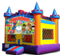 Fun Castle Happy Birthday