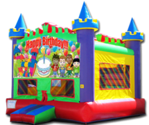 Wacky Castle Happy Birthday