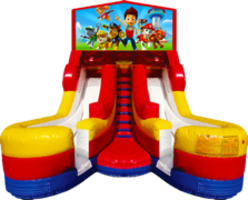 Double Splash 16' Slide Paw Patrol