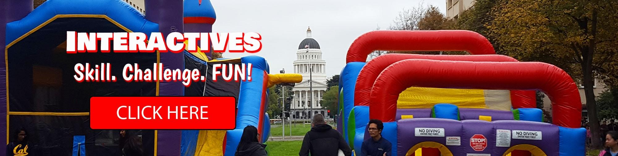 Sacramento Obstacle Course Rentals