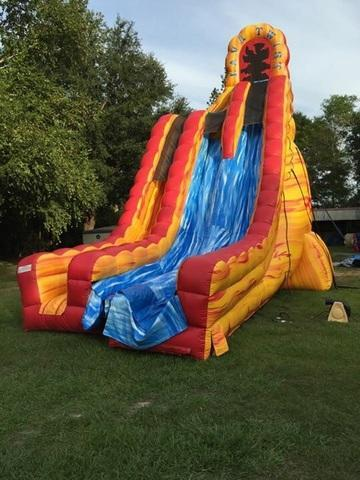 27ft. Double Lava Dry slide