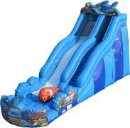 SHARK ATTACK 22' DRY SLIDE