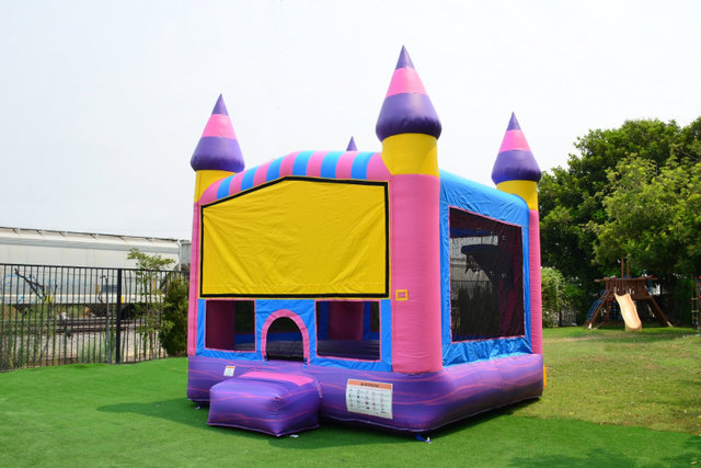Cotton Candy Bounce House (Medium)