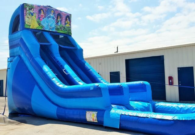 20 ft module slide princess