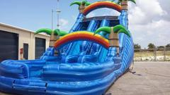 18 ft double paradise wetslide  (special )