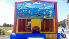 Under The Sea Mermaid Bounce House