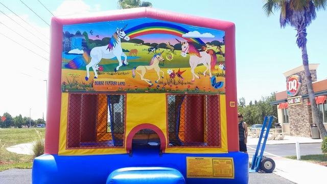 Unicorns Bounce House