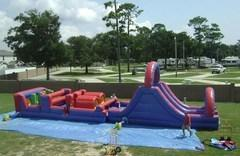 Obstacle Courses and Dry Slides