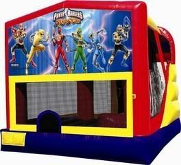 Power Rangers Combo 4 Bounce House