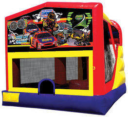 Race Cars Combo 4 Bounce House