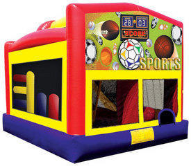 Sports Combo 4 Bounce House