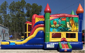 Lion King Combo Bounce House