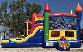 Mickey Mouse Clubhouse Combo Bounce House