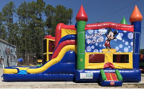 Mickey Mouse Combo Bounce House