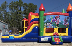 Minnie Mouse Combo Bounce House