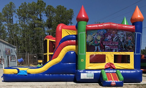 Monster High Combo Bounce House
