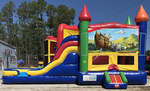 Noah's Ark Combo Bounce House