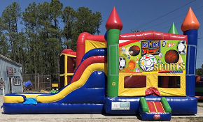 Sports Combo Bounce House