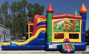 Whinnie the Pooh Combo Bounce House