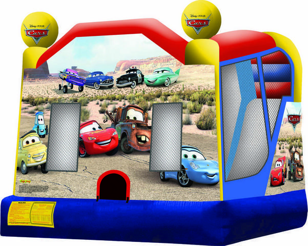 Cars Combo 4 Bounce House 117