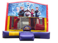 Frozen Combo 4 Bounce House