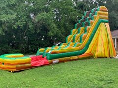 19 FT FIESTA WATER SLIDE (301)Best for ages 6+Size 36L X 15W X 19H  ***NEW MAY 2020***