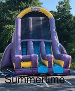 22 ft Double Lane Dry Slide 116