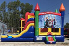 Frozen Combo Bounce House