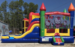 Hello Kitty Combo Bounce House