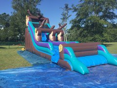 22 Foot River Rapids Waterslide 190