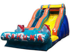 16 FT Kahuna Water Slide (186)Best for ages 5+Size 30'L x 14'W x 16'H