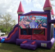 Pink Castle Sofia the First Combo Bounce House