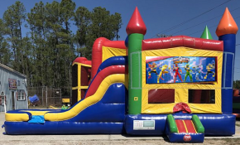 Power Rangers Combo Bounce House