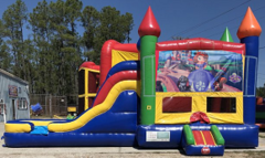 Sofia the First Combo Bounce House
